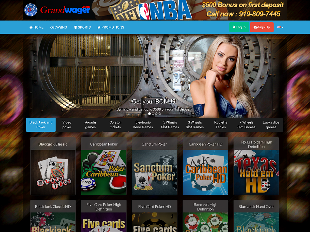 Casino software and a full suite of casino games