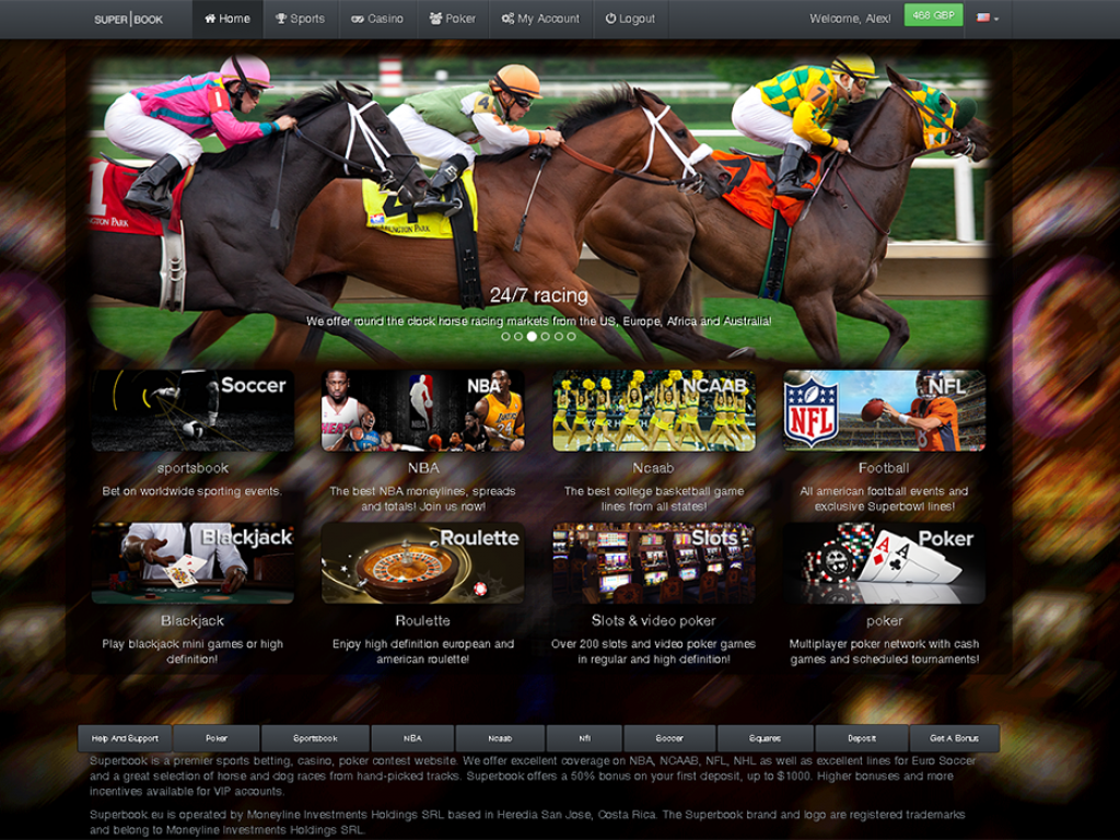 Custom sportsbook software and graphics